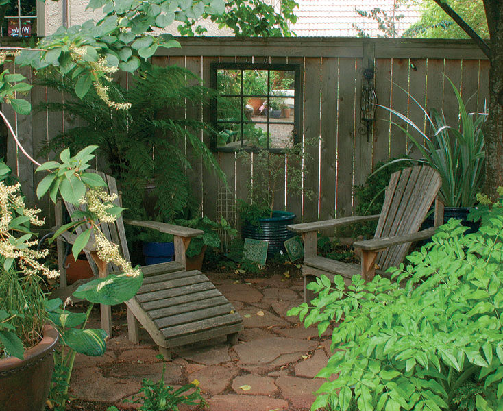 Seating areas made simple finegardening for Garden seating ideas on a budget