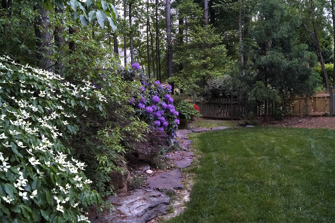 David 39 s garden in north carolina day 3 finegardening for Garden design podcast