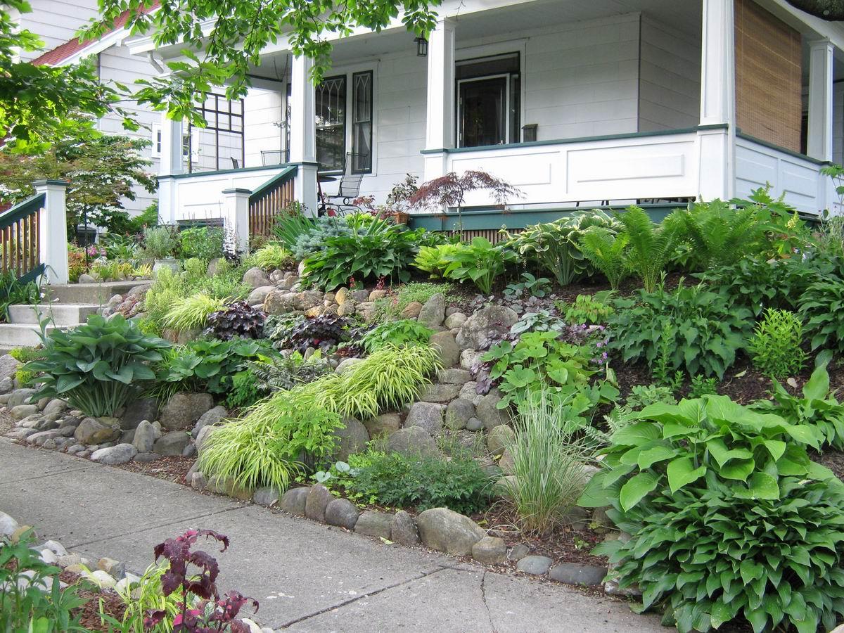 Reader photos tim 39 s garden in ohio day 2 the front yard for Suburban garden design ideas
