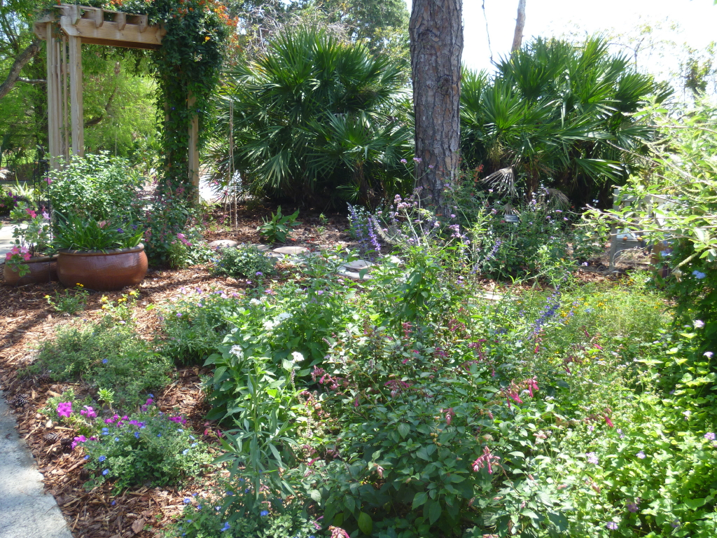 A Cottage Garden In Southern Florida