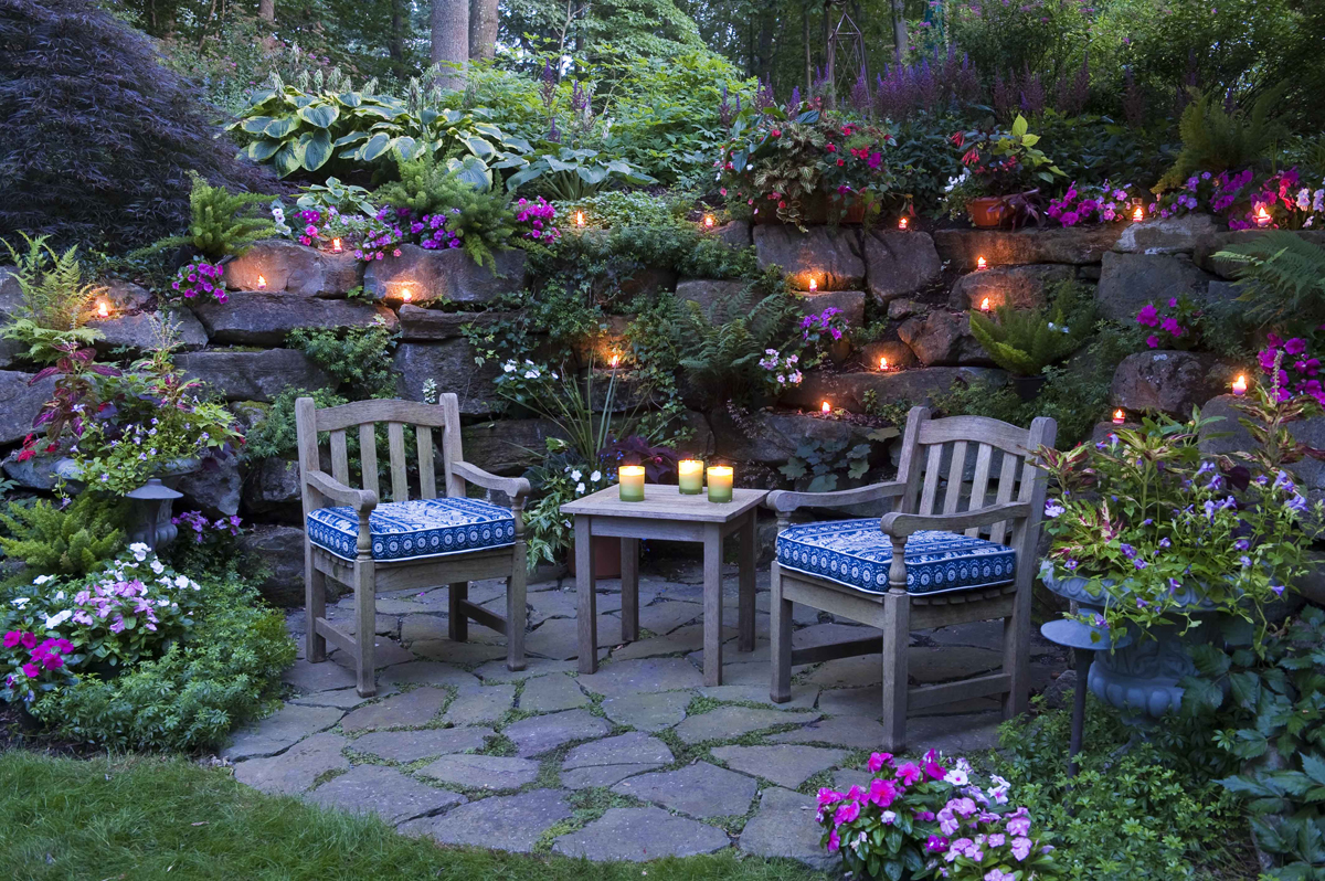 A grotto garden in pennsylvania finegardening for Garden grotto designs