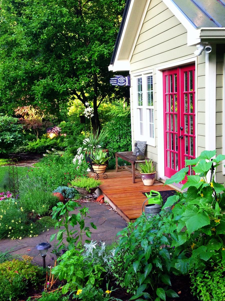 Karen & Ted s garden in North Carolina