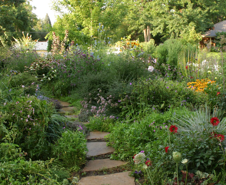 front yard garden.  A Front Yard Garden in No Time FineGardening