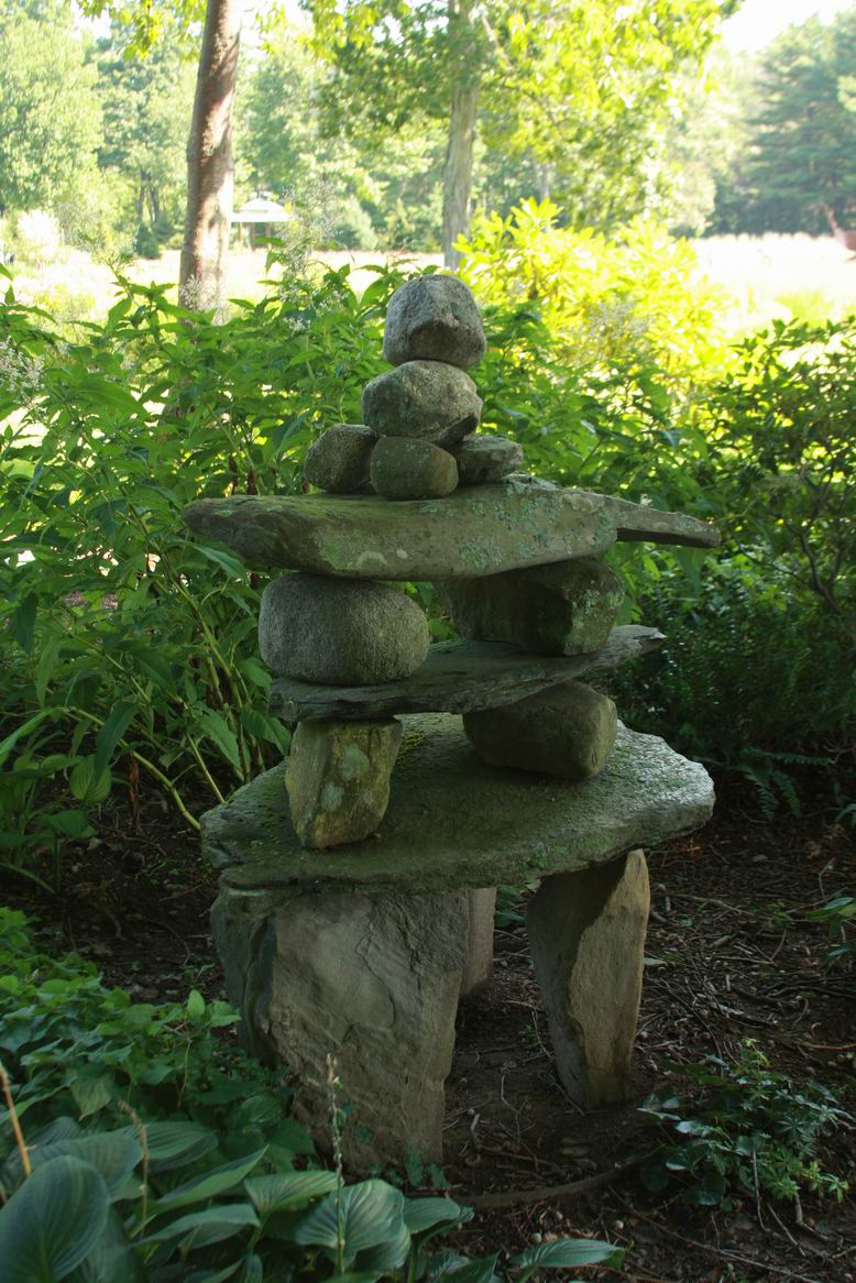 From humble materials finegardening for Sticks and stones landscaping