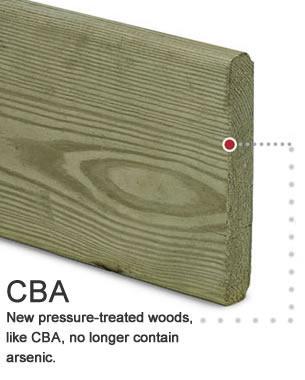Illustration Daniel S Morrison Pressure treated wood