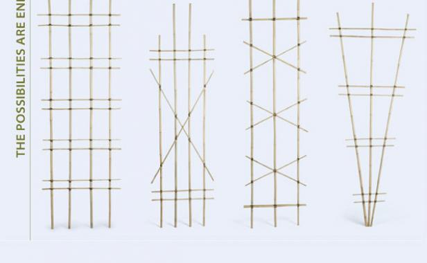 build a bamboo trellis finegardening